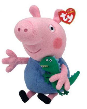 Beanie Boo Peppa Pig George