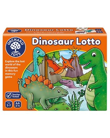 Orchards Toys Dinosaur Lotto