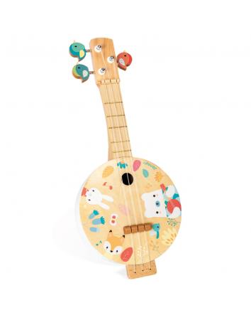 Janod Wooden Banjo
