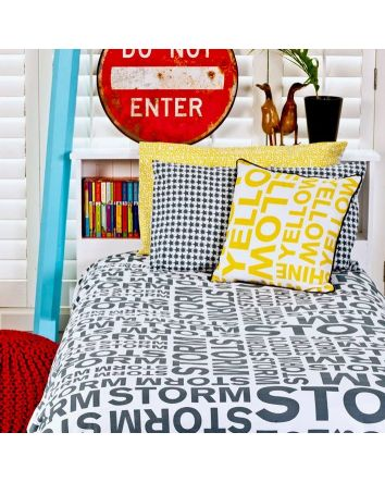 One Kind Storm Quilt Cover Single