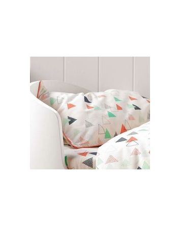 Hiccups Peaks Cot Quilt Cover Set