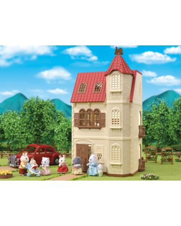 Sylvanian Families Red Roof Tower Home