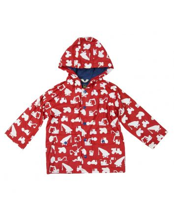 Korango Construction Raincoat Red