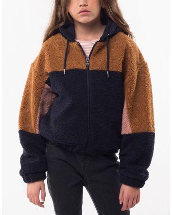 Eve Girl Teddy Panel Jacket