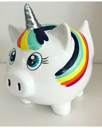 Ceramic Unicorn Piggy Money Box
