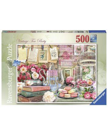 Ravensburger Vintage Tea Party Puzzle 500 Pc