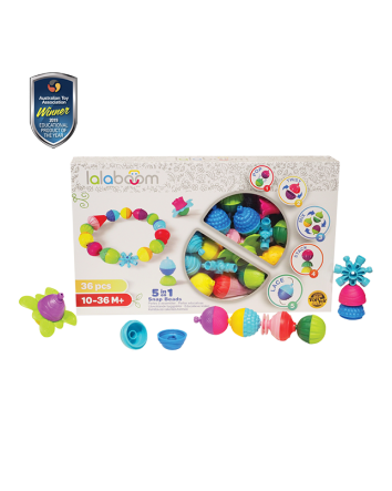 Lalaboom 36 Pce Snap Beads