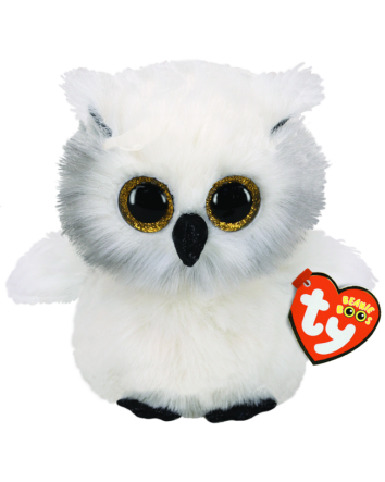 Beanie Boo Austin White Owl