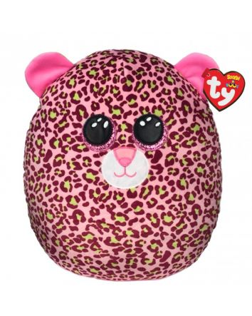 TY Beanie Boo Lainey the Leopard Large Squish-A-Boos