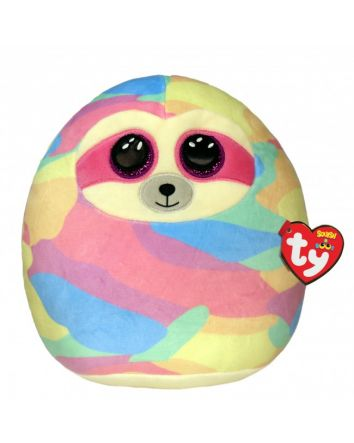 TY Beanie Boo Cooper the Sloth Small Squish-A-Boos