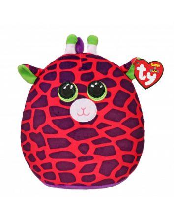 TY Beanie Boo Gilbert the Giraffe Small Squish-A-Boos