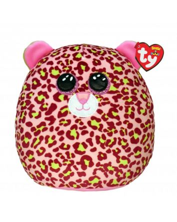 TY Beanie Boo Lainey the Lropard Small Squish-A-Boos
