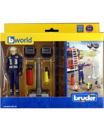 Bruder BWorld Fire Brigade Figure Set