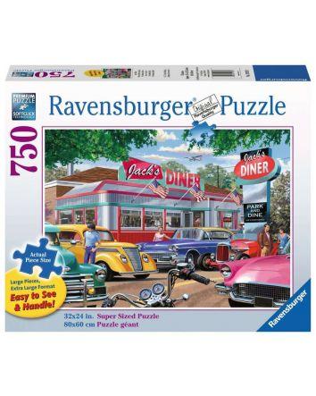 Ravensburger Jack's Diner Puzzle 750 Pc