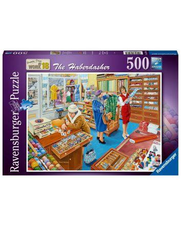 Ravensburger The Haberdasher Puzzle 500 Pc