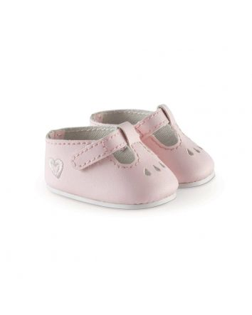 Corolle Ankle Strap Shoes Pink
