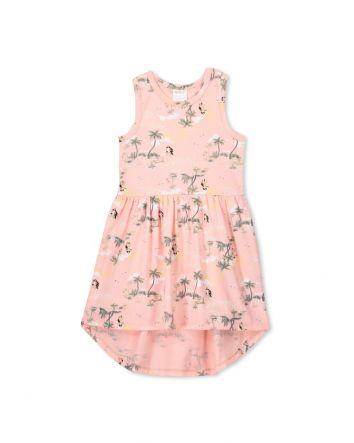 Milky Hula Girl Dress