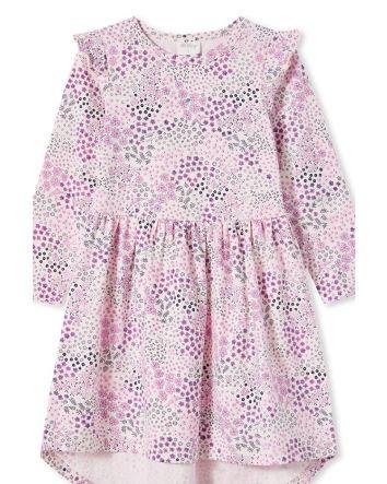 Milky Patchwork Dress