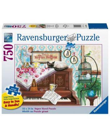 Ravensburger Piano Cat Puzzle 750 Pc