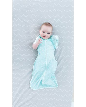 Swaddle Up 50/50 Bamboo Lite- Mint Large