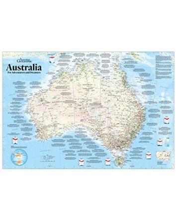 Blue Opal Adventures & Dreamers Map Puzzle 1000pc