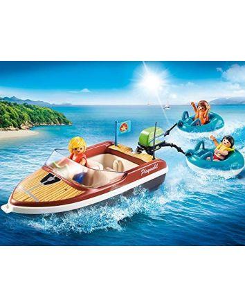 Playmobil Speedboat Tube Riders