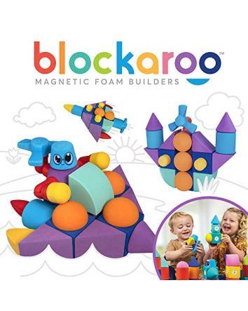 Blockaroo Magnetic Foam Blocks 50pc Set