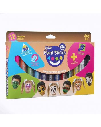 Little Brian Face Paint Sticks- 12 Pk