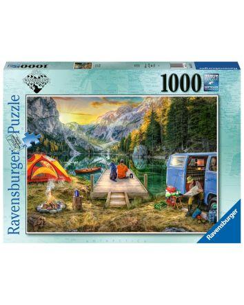 Ravensburger Calm Campsite Puzzle 1000 Pc