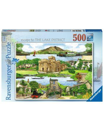 Ravensburger Lake District Puzzle 500 Pc