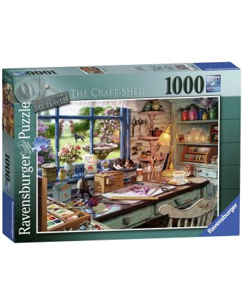 Ravensburger Craft Shed Puzzle 1000 Pc