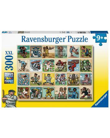Ravensburger Awesome Athletes Puzzle 300 Pc