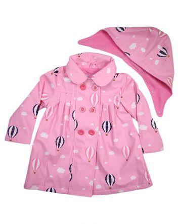 Korango Raincoat Balloon Pink