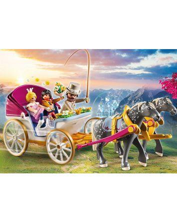 PLAYMOBIL PRINCESS HORSE DRAWN CARRIAGE