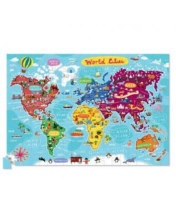 Crocodile Creek World Cities Puzzle 200pc