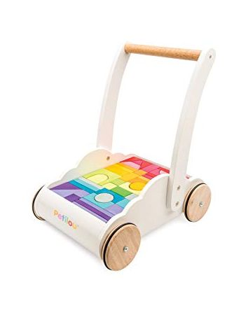 Petilou Rainbow Cloud Walker with Blocks