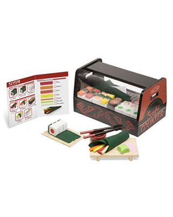 Melissa & Doug Roll, Wrap and Slice Sushi Counter