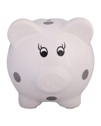 Polka Dot Piggy Bank - Small