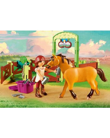 Playmobil Spirit Horse Stable with Lucky