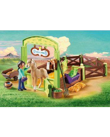 Playmobil Spirit Horse Stable with Prue and Chica
