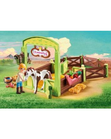 Playmobil Spirit Horse Stable with Abigail and Boomerang