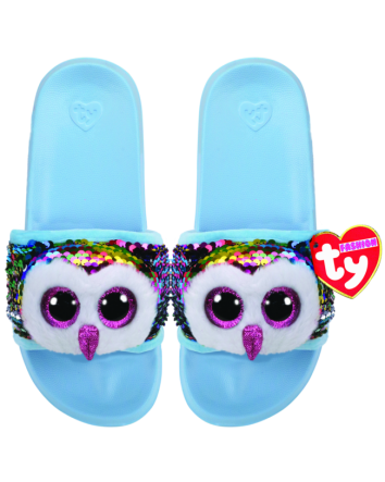 Owen the Owl Sequin Slides