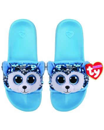Slush the Dog Sequin Slides