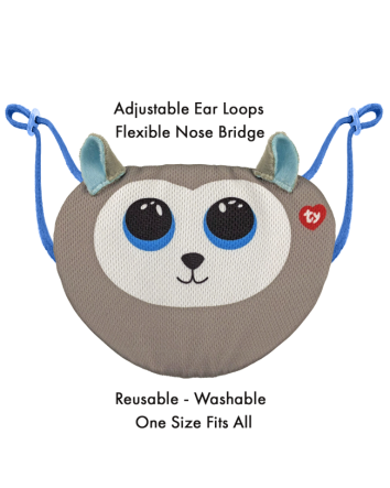 Beanie Boo Mask Slush Husky