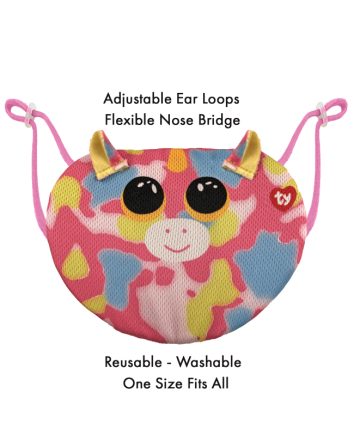 Beanie Boo Mask Fantasia Unicorn