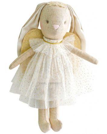 Alimrose Mini Angel Bunny Ivory