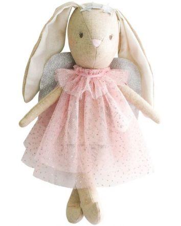 Alimrose Mini Angel Bunny Pink