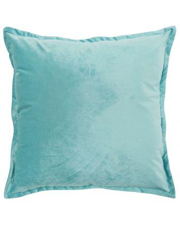 Velvet Cushion - Turquoise