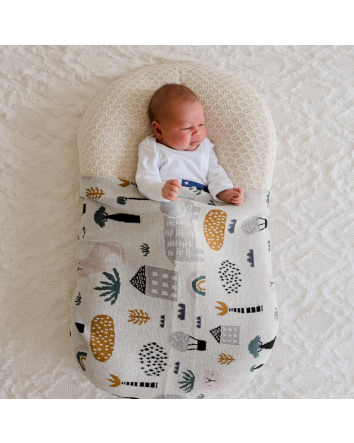 Asher Animal Baby Blanket