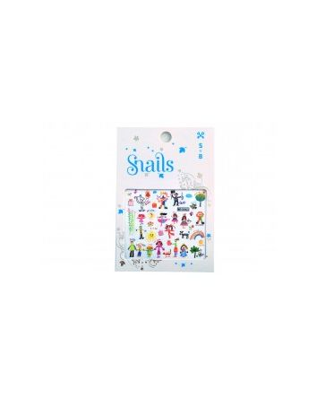 Snails Nails Baby Art Nail Stickers